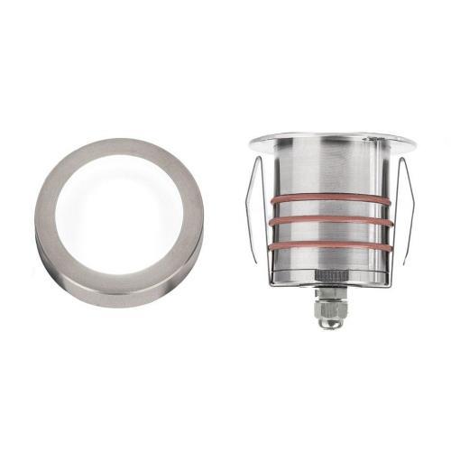 WAC Lighting 2011-30 3.13 Inch 12V 4W 1 LED Slim Round Indicator Light