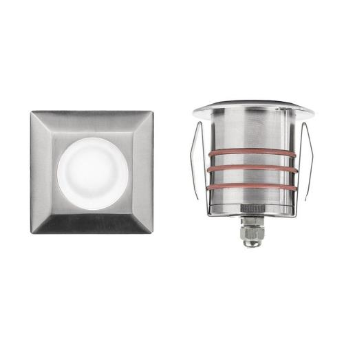 WAC Lighting 2051-30 12V 4W 1 LED Sqaure Indicator Light-2.75 Inches Wide by 3.13 Inches High