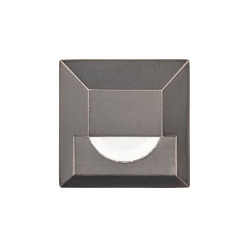 WAC Lighting 2061-30 3.25 Inch 12V 4W 1 LED Square Step/Wall Light