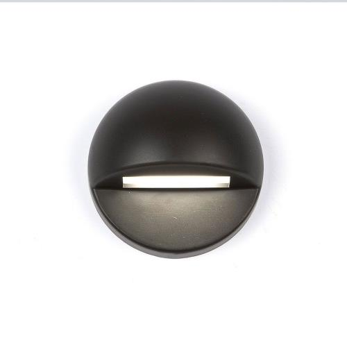 WAC Lighting 3011 12V 2.8W 2700K 1 LED Round Deck/Patio Light-3 Inches Wide by 3 Inches High