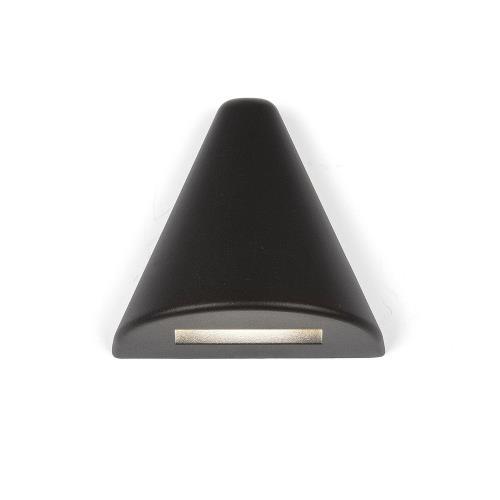 WAC Lighting 3021 3.39 Inch 12V 2.8W 2700K 1 LED Triangle Deck/Patio Light