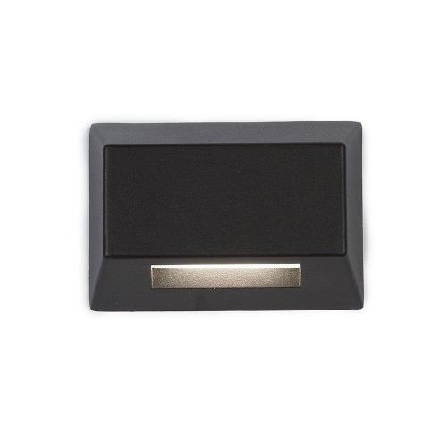 WAC Lighting 3031 3.39 Inch 12V 2.8W 2700K 1 LED Rectangle Deck/Patio Light