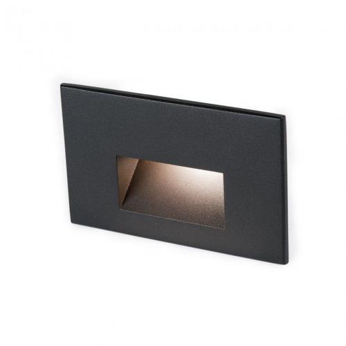 WAC Lighting 4011 5 Inch 12V 2W 2700K 1 LED Horizontal Step/Wall Light