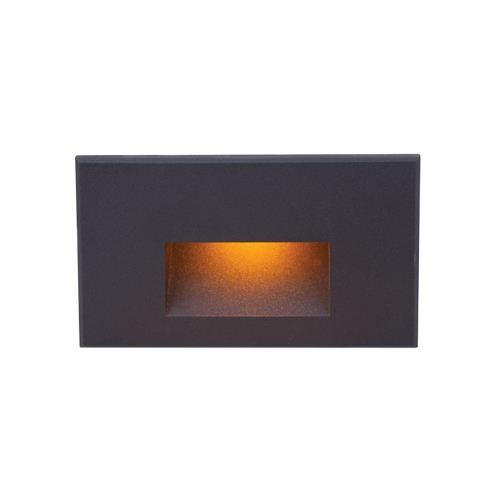WAC Lighting 4011-AM 5 Inch 12V 2W Amber 1 LED Horizontal Step/Wall Light
