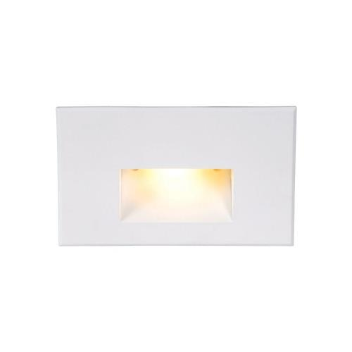 WAC Lighting 4011-AM 5 Inch 12V 2W Amber 1 LED Horizontal Step/Wall Light