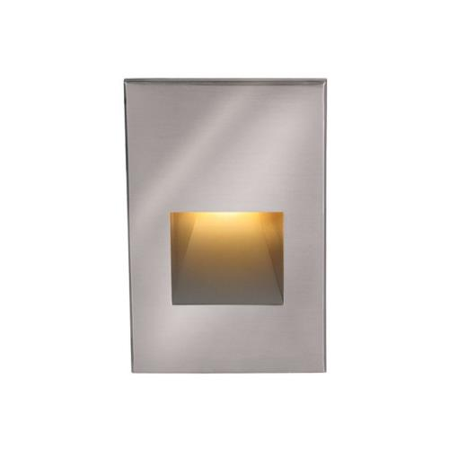 WAC Lighting 4021-AM 12V 2W Amber 1 LED Vertical Step/Wall Light-3 Inches Wide by 5 Inches High