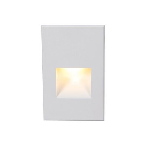 WAC Lighting 4021-AM 5 Inch 12V 2W Amber 1 LED Vertical Step/Wall Light