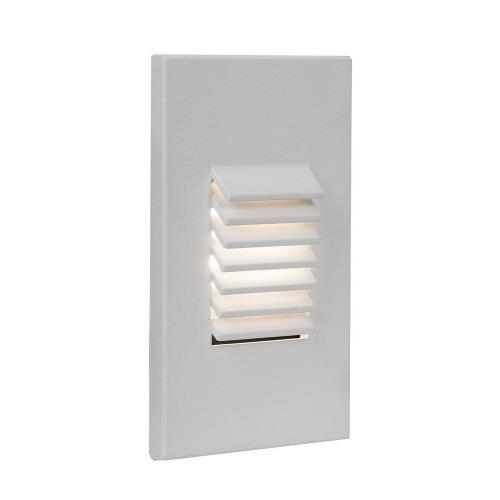WAC Lighting 4061-27 3.13 Inch 12V 2W 2700K 1 LED Vertical Louvered Scoop Step/Wall Light