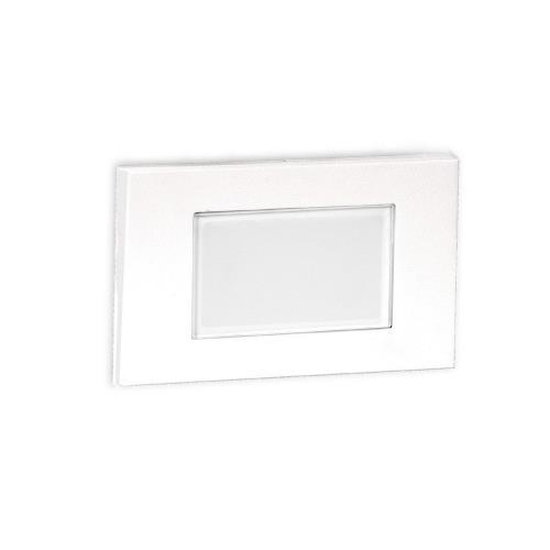 WAC Lighting 4071-27 5 Inch 12V 2W 2700K 1 LED Diffused Step/Wall Light