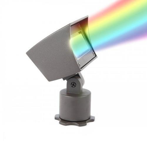 WAC Lighting 5021-CCBBR 6.13 Inch 12V Color Changing 14.5W 1 LED Flood Light
