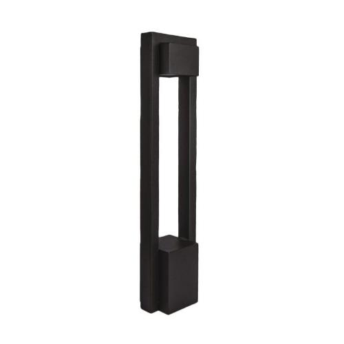 WAC Lighting 6643-30 Park-277V 10.5W 3000K 1 LED Bollard in Contemporary Style-6 Inches Wide by 27 Inches High