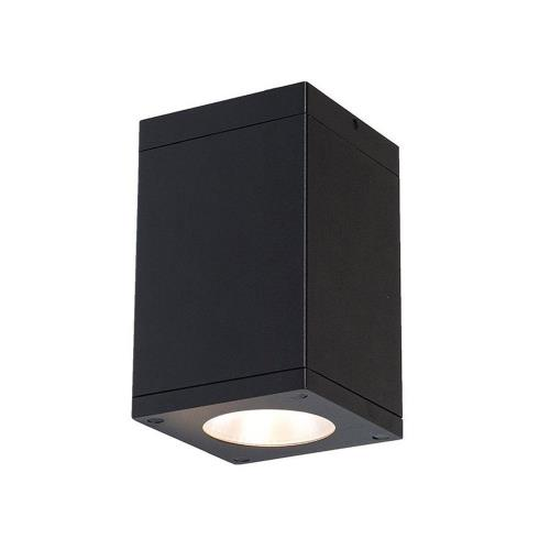 "WAC Lighting DC-CD05-S930 Cube Architectural - 4.5"" 27W 3000K 90CRI 18 degree 1 LED Outdoor Flush Mount"