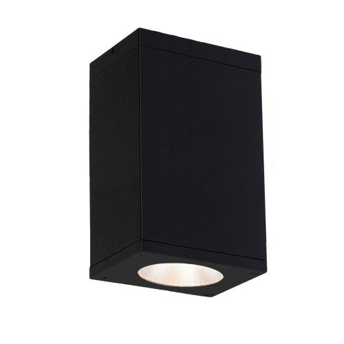 "WAC Lighting DC-CD06-F835 Cube Architectural - 5.5"" 36W 3500K 85CRI 40 degree 1 LED Outdoor Flush Mount"