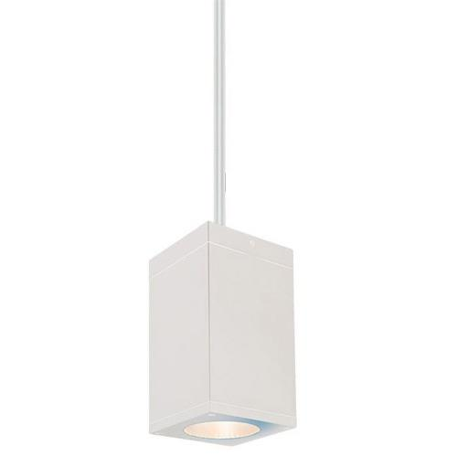 WAC Lighting DC-PD05-S827 Cube Architectural - 4.5 Inch 27W 2700K 85CRI 18 degree 1 LED Pendant