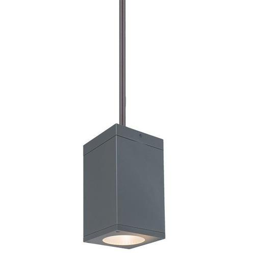 "WAC Lighting DC-PD05-S830 Cube Architectural - 4.5"" 27W 3000K 85CRI 18 degree 1 LED Pendant"