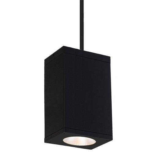 "WAC Lighting DC-PD06-S927 Cube Architectural - 5.5"" 36W 2700K 90CRI 19 degree 1 LED Pendant"