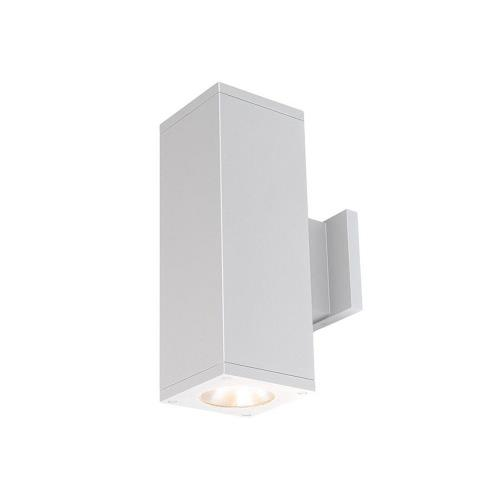 WAC Lighting DC-WD05-F835S Cube Architectural - 7.19 Inch 53W 3500K 85CRI 33 degree 2 LED Outdoor Wall Mount with Straight up and down Direction