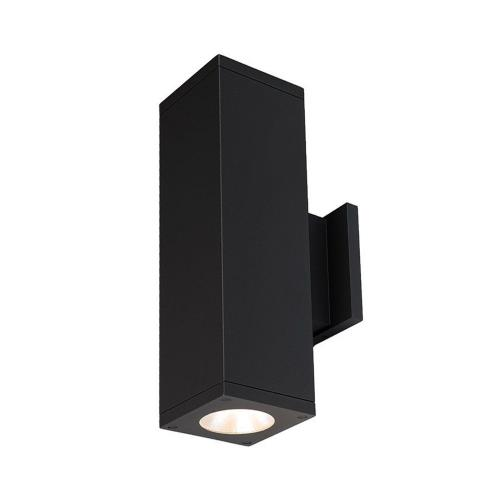 WAC Lighting DC-WD06-F827C Cube Architectural - 17.88 Inch 72W 2700K 85CRI 40 degree 2 LED Outdoor Wall Mount with One side each Direction