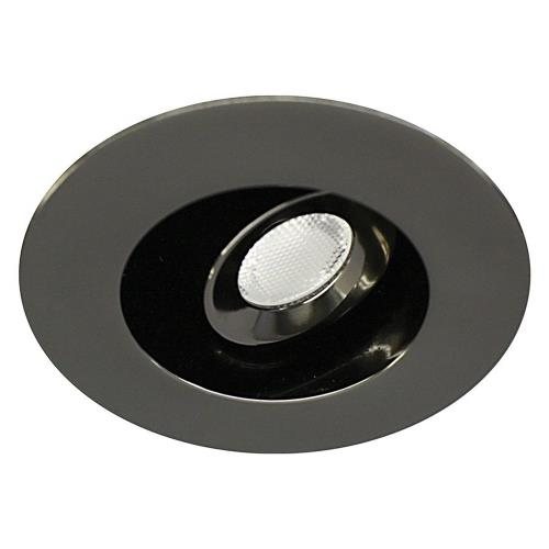 "WAC Lighting HR-LED232R-30 LEDme - 2.75"" 3W 3000K 1 LED Miniature Recessed Adjustable Spot"