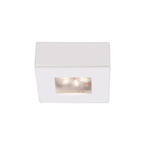 "WAC Lighting HR-LED87S Ledme - 2"" 4.8W 2700K 1 LED Square Recessed/Surface Mount Button Light"