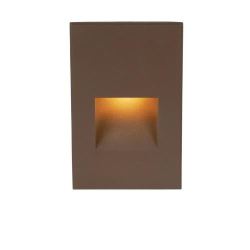 "WAC Lighting WL-LED200F LEDme - 5"" 277V 3.9W Amber 1 LED Vertical Step/Wall Light"