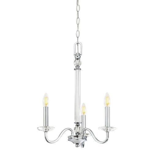 Westinghouse Lighting 6332000 Versailles - Three Light Chandelier