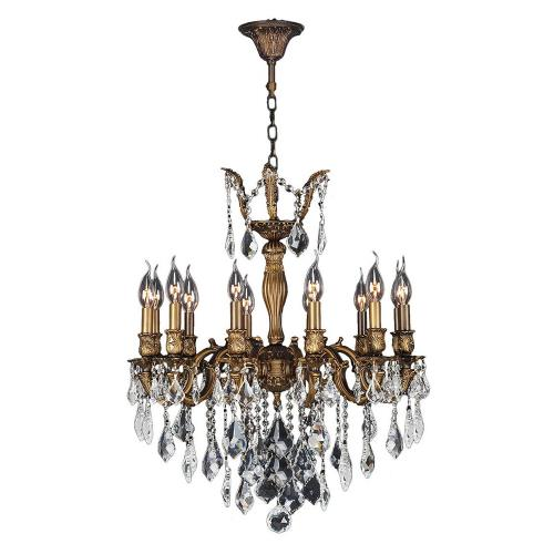 Worldwide Lighting W83339B24 Versailles - Twelve Light Large Chandelier