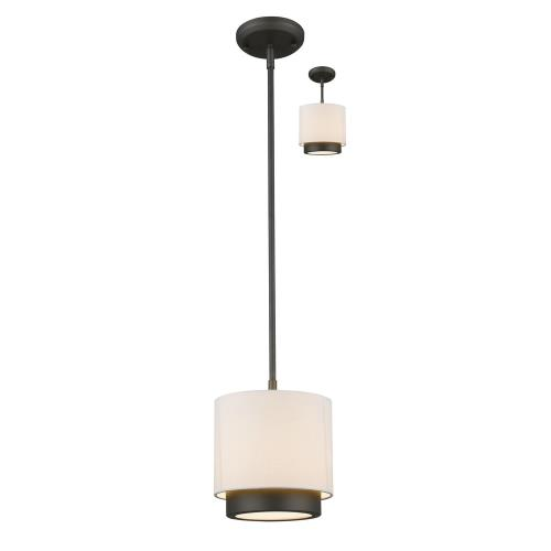 Z-Lite 196-8 Jade - One Light Convertible Mini Pendant