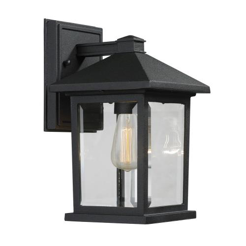 Z-Lite 531-10W Portland - 1 Light Outdoor Wall Mount in Country Style - 6 Inches Wide by 10.25 Inches High