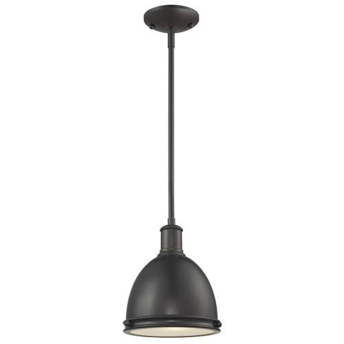 Z-Lite 708MP-BRZ Mason - One Light Mini-Pendant