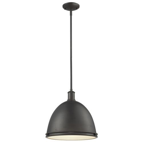 Z-Lite 708P13-BRZ Mason - One Light Pendant