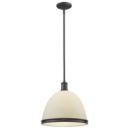 Z-Lite 712P13-BRZ Mason - One Light Pendant
