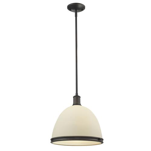 Z-Lite 713P13-OB Mason - One Light Pendant