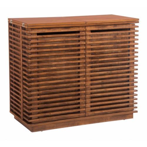 Zuo Modern 100670 Linea - 41.5 Inch Bar Cabinet