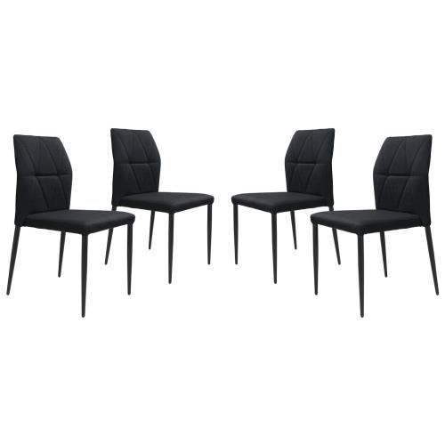 Zuo Modern 100761 Revolution - 33.5 Inch Dining Chair (Set of 4)