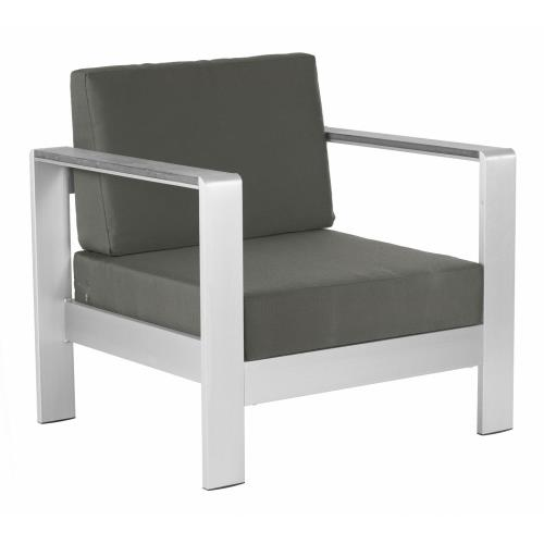 Zuo Modern 703848 Cosmopolitan - 24.5 Inch Cushion Arm Chair
