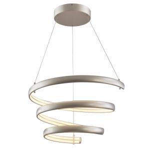 "Sling - 31.3"" 160W 1 LED Oval Spring Pendant"