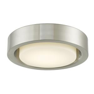 "Eclipse - 13"" 16W 1 LED Flush Mount"