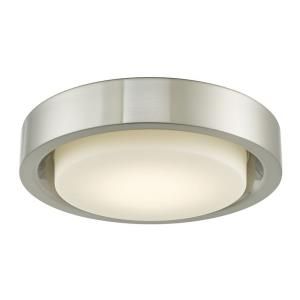 "Eclipse - 15.4"" 20W 1 LED Flush Mount"