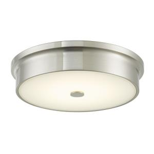 "Spark - 12"" 16W 1 LED Flush Mount"