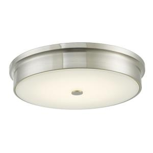 "Spark - 15"" 20W 1 LED Flush Mount"