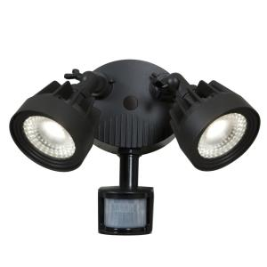 "Guardian - 12"" 21W 2 LED Outdoor Security Spotlight"