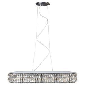"Magari - 33"" 30W 1 LED Medium Oblong Pendant"