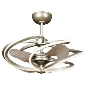 "Vortex - 27.38"" 60W 6 LED Medium Pendant with Fan"