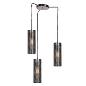 Multis - Three Light Encaged Glass Pendant