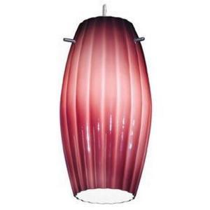 """Fleur - 11"""" Moulded Cylinder Glass Shade"""