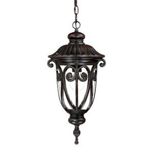 Naples - One Light Outdoor Hanging Lantern