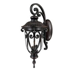 Naples - Three Light Outdoor Wall Mount