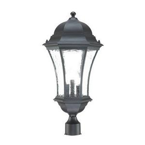 Waverly - Three Light Outdoor Post Lantern