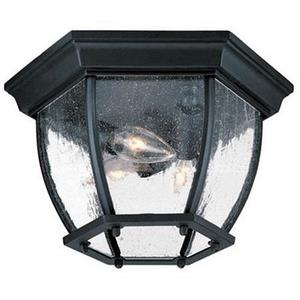 Three Light Outdoor Flush Mount